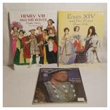 Paper Doll Collection - Henry VIII & Wives, Louis