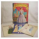 Paper Dolls - Coronation Book, Elizabeth Queen Mot