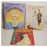 Paper Doll Collection - Princess Diana Book of Fas