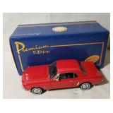 Welly 1964.5 Ford Mustang Red 1:24 Scale Model Die