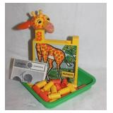 Vintage Playskool Giraffe Game No 210 4-10 Years