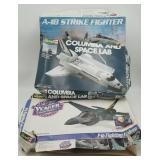 (3) Model Kits - 2 Revell F-16 Fighting Falcon, Mo