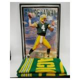 """A lot of 2: 1995 Ric Fogel photo """"Favre and Away o"""