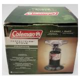 Coleman propane camp stove, new in box