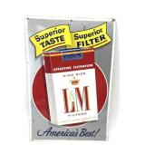 L & M tobacco advertising sign                (700