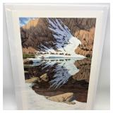 """Bev Doolittle signed and numbered print, """"Season o"""
