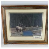 """Thomas W. Schillinger signed and numbered print, """""""