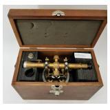 Bostrom - Brandy antique surveyors transit tool in