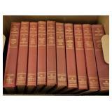 """10 volume set of books """"the bookshelf for boys & g"""