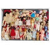 Case lot of dolls, Case not included
