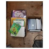 Lot with 2 boxes full w/different authors and topi
