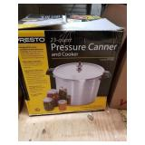 PRESTO 23 quart pressure canner and cooker