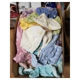 Large lot with boxes full with doll clothes, home