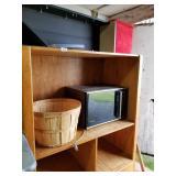 Wooden entertainment center cabinet, mini oak cabi