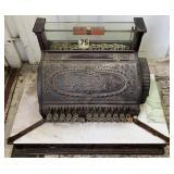 Vintage cash register, brand National Cash registe