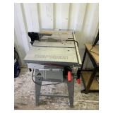 """10"""" 10"""" table saw, brand is craftsman limited edit"""