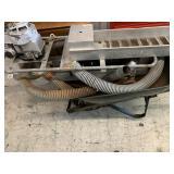 Aluminum made dredge w/slice box and gasoline moto