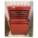 Craftsman 2 pieces tool chest w/key in good condit