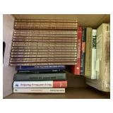 Box lot with misc. books sheep and sheep hunting,