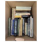 Box lot with gun books              (P 59)(S2)