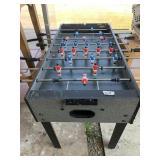 SPALDING foosball table missing balls            (