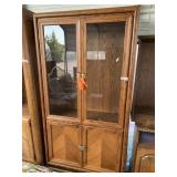 Wooden China hutch in good condition missing shelv