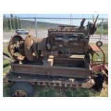 Vintage CONTINENTAL generator with straight flat h
