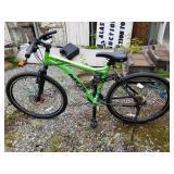 Mountain bike, model (G&WESIS) 2.75 aluminum frame