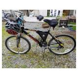 "Bicycle model VERTICAL, with helmet bags 24"" tires"