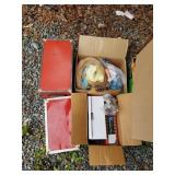 Lot with boxes with dolls, trunks, family games, e