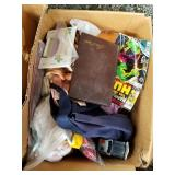 Pallet lot with boxes full of miscellaneous items: