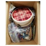 Lot with miscellaneous items: new dolls in boxes,