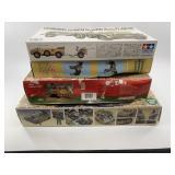 4 Plastic Models, still in box.       (700)