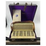 Hohner Concertina.  With bakelite body of keys.  I