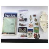 Large Box Lot: Jewelry, Collectibles, Antiques, To