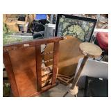 Large lot with furniture: kids wooden headboard, r