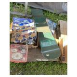 Pallet lot with miscellaneous items: Fat Bob K2 sn