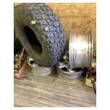 """Lot with Doge size 20"""" 3 wheels BF Goodrich Mud -"""