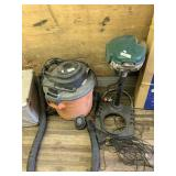 Lot of 2: Radgid Sho-vac complete with hose and pr