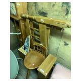 Furniture set, wooden head and food board, wooden