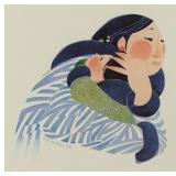 """Rie Munoz signed and numbered print """"The Embrace"""""""