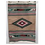Hand-Woven woolen Navajo Carpet