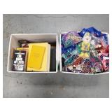 Lot of 2.  Party Beads and Accessories and Books.