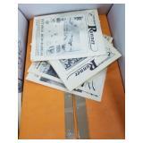 Box full of books pertaining to Alaska (3)