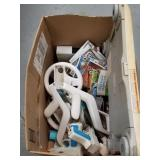 Nintendo Wii with 7 Games, Wii-Board, and 2 Each o