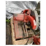 "MILWAKEE 14"" abrasive cut-off machine 120 volts, 3"