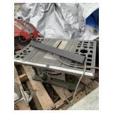 MAKITA model 2708 table saw, 4500 RPM