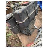LOMBARDINE motor, 400cm3, diesel motor with electr