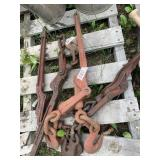 Lot with chain tie down         (M 75)(Y)