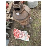 Lot of 2 including hot w/fire use only hands off g
